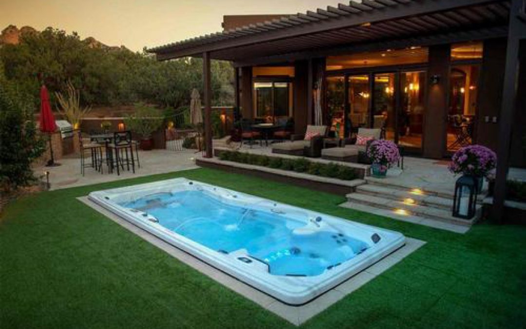 Easily Installed Swim Spas Expand Home Exercise Horizons