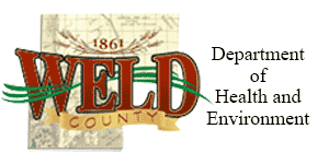 Weld County Dept of Health and Environment